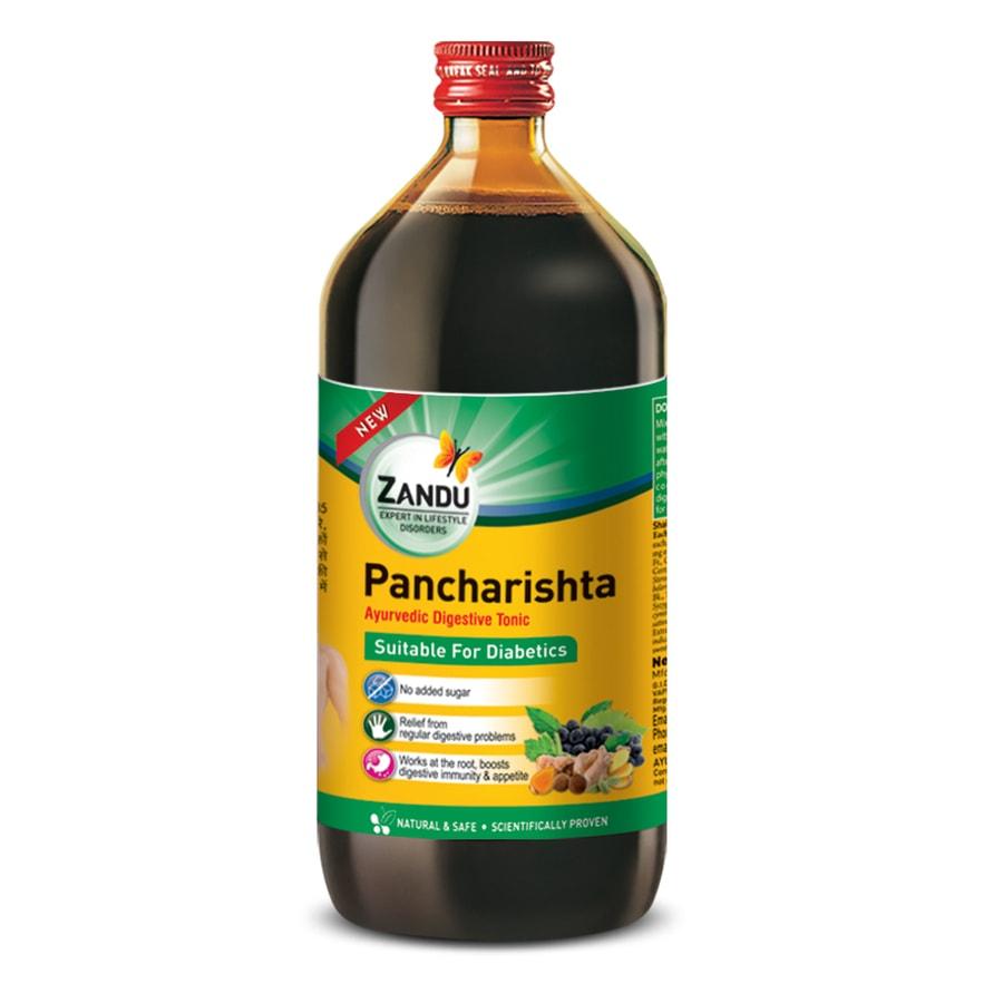 Zandu Pancharishta Suitable For Diabetics - 450ml