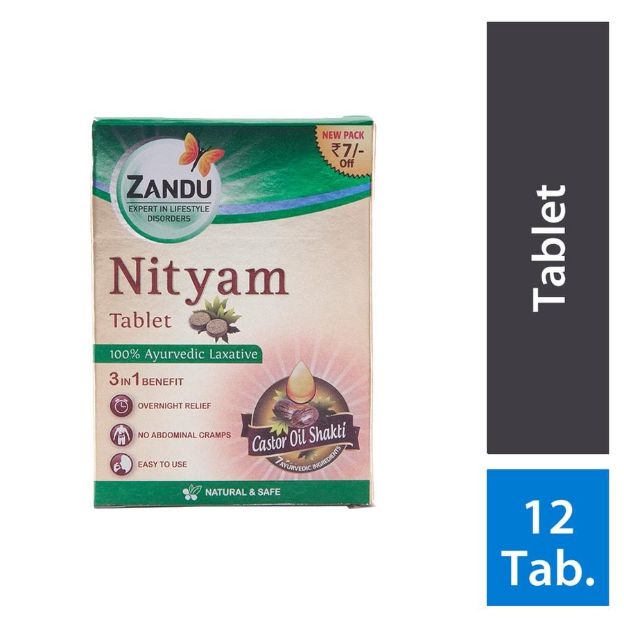 Zandu Nityam Tablet - 12's