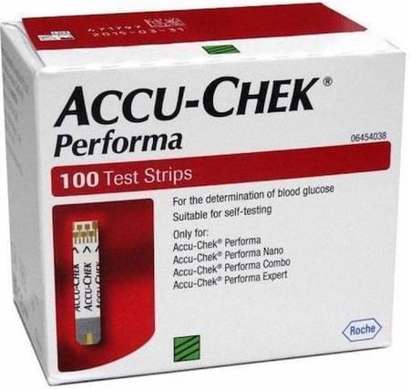 Accu-chek Performa 100 Strips